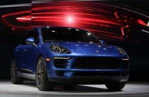 LA Auto Show Porsche Macan