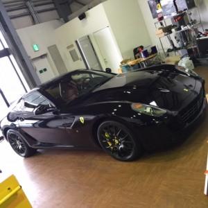2007' Ferrari 599GTB インダッシュナビ取付☆